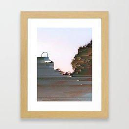 Blackstone cropped Framed Art Print