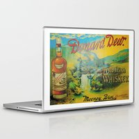 whiskey Laptop & iPad Skins featuring Old Whiskey by Peaky40