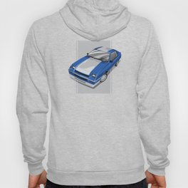 1983 L-Body Charger Blue Hoody