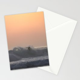 Lone Surfer Stationery Cards