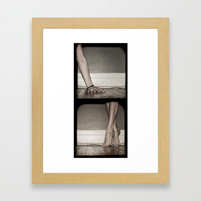 Top/Bottom Framed Art Print
