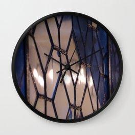Broken Still Reflects Wall Clock