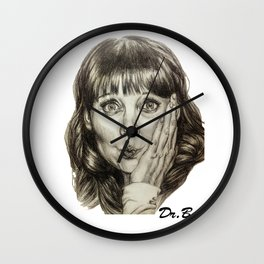 Asha Cuthbert    By Davy Wong Wall Clock