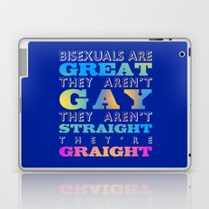 Bisexuals Are Great! Laptop & iPad Skin
