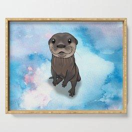 Otter Cuteness Serving Tray