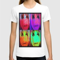 kris tate T-shirts featuring Sharon Tate by Joe Ganech