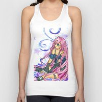 vocaloid Tank Tops featuring IA(fanart) by jannaj
