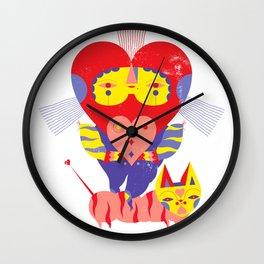 Jack of hearts Wall Clock