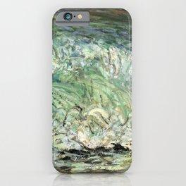 Kida Kinjiro - Waves (1958) iPhone Case