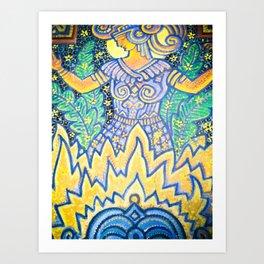 goddess warrior Art Print