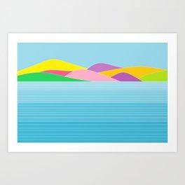 islands Art Print