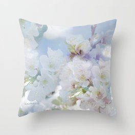 Heart's Delight, In Memory of Mackenzie Throw Pillow