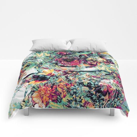Flowers & Birds Comforters