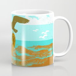 SINKING CELLO (red) Coffee Mug