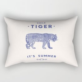 Smile Tiger, it's Summer Rectangular Pillow
