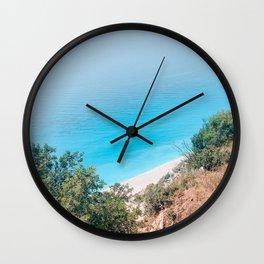Lefkada Wall Clock
