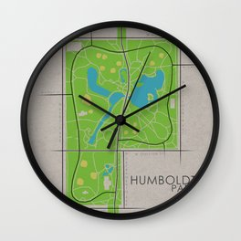 Chicago - Humboldt Park Wall Clock