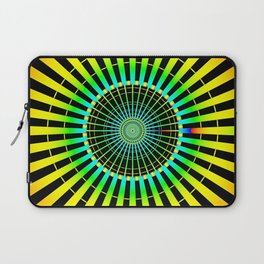 Rainbow Spokes Laptop Sleeve
