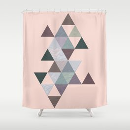 Abstract #811 Shower Curtain