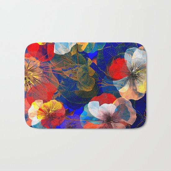 Flower carpet(54). Bath Mat