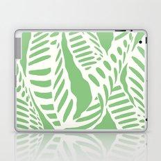 Al Peas: Ivory on Sage/Green Laptop & iPad Skin
