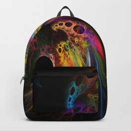 Rainbow rhinoceros Backpack