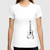 guitar T-shirts featuring guitar by brittanyhelms
