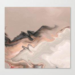 Marble Dream: a digital dreamscape Canvas Print