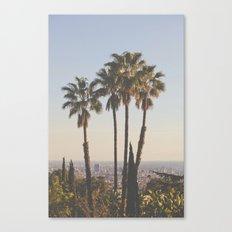 L.A. Canvas Print