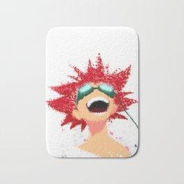 COWBOY BEBOP Edward Painting   Color Splatter Style Bath Mat