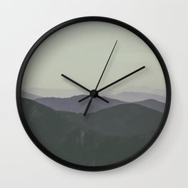 Mountains #2 Wall Clock
