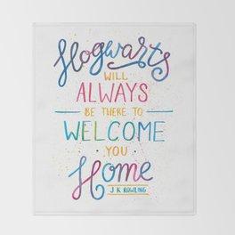 Hogwarts Throw Blanket