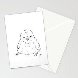 Grumpy Lump Bird  Stationery Cards
