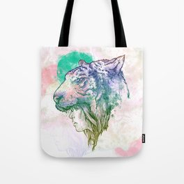 TiGirl Tote Bag