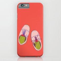 Polka dot shoes Slim Case iPhone 6s