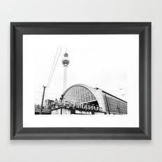 Berlin Alexandraplatz Framed Art Print