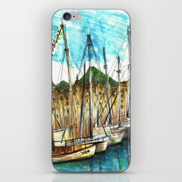 sicily port see iPhone Skin