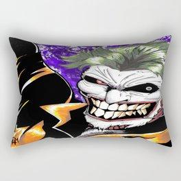 The Man Who Laughs Rectangular Pillow