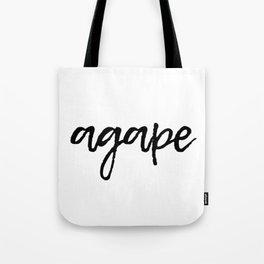 Agape Tote Bag