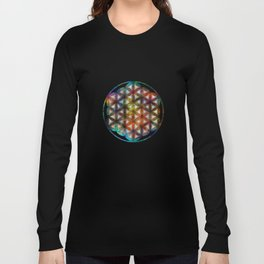 The Flower of Life Symbol Long Sleeve T-shirt