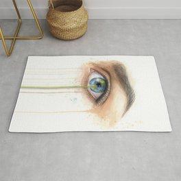 Crying Earth Eye Rug