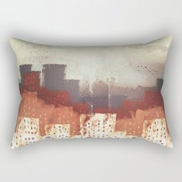 City Rain Rectangular Pillow