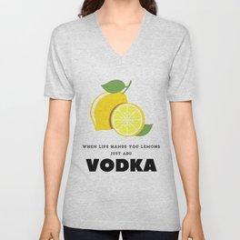 When Life Hands You Lemons Unisex V-Neck