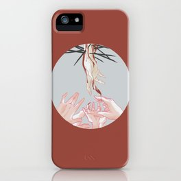 Helping Hand iPhone Case