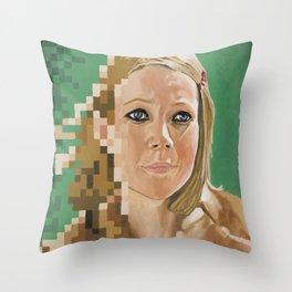 Tribute to Margot Throw Pillow
