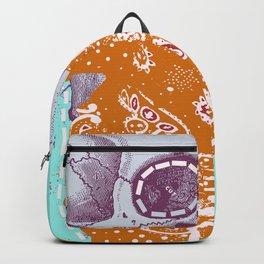 SKULL MASK CUTOUT Backpack