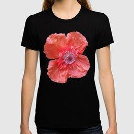Poppy monochromatic T-shirt