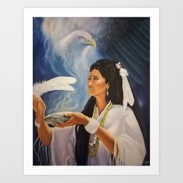 Native American Shaman Art Print