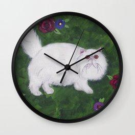 Persian Meadow Wall Clock