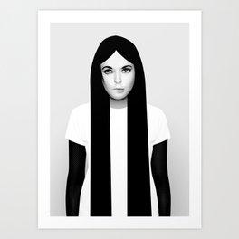 'K' Art Print